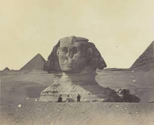 Egypte, le Sphinx (Felice Beato) - Muzeo.com