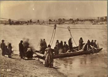 Ferry près de Fort Laramie, Dakota (Alexander Gardner) - Muzeo.com
