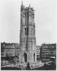 La Tour Saint-Jacques (Edouard Baldus) - Muzeo.com
