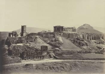 L'Acropole d'Athènes (anonyme) - Muzeo.com