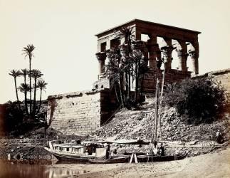 Le kiosque de Trajan à Philae, Egypte (Francis Frith) - Muzeo.com