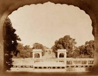 Le Palais de Dilkusha (Felice Beato) - Muzeo.com