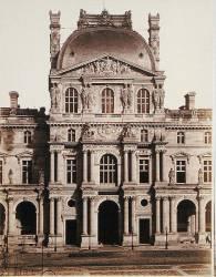 Le Pavillon Richelieu du Louvre (Edouard Baldus) - Muzeo.com
