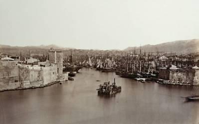 Le Port de Marseille (Edouard Baldus) - Muzeo.com