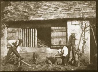 Les Bûcherons (William Henry Fox Talbot) - Muzeo.com