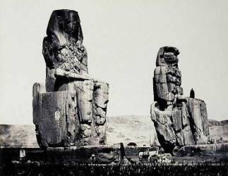Les Colosses de Memnon (Francis Frith) - Muzeo.com