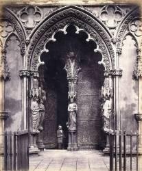 Lichfield : Porche Ouest (Roger Fenton) - Muzeo.com