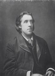 Portrait d'Oscar Wild (1854-1900) (Umberto anonyme) - Muzeo.com