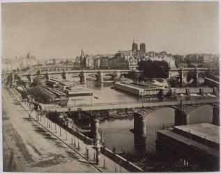 Panorama de Paris, vers le Pont-Neuf (Gustave Le Gray) - Muzeo.com