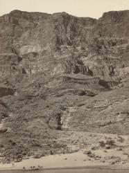 Paroi du Grand Canyon, Colorado River (Timothy O'Sullivan) - Muzeo.com