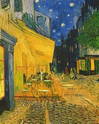 Terrasse du Café le soir sur la Place du Forum, Arles (Vincent Van Gogh) - Muzeo.com
