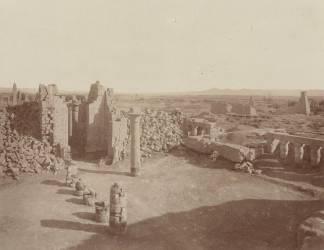 Karnak : les pylônes (Anonyme) - Muzeo.com