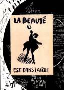 La Beauté est dans la rue - oeuvre encadrée (Anonyme) - Muzeo.com
