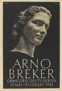 Affiche : Arno Breker (anonyme) - Muzeo.com