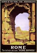 Affiche de voyage pour Rome (Broders Roger) - Muzeo.com