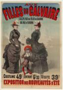 Aux filles du calvaire (Jules Chéret) - Muzeo.com