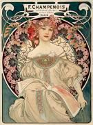 F. Champenois imprimeur-éditeur (Alfons Mucha) - Muzeo.com