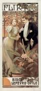 Flirt - Biscuits Lefèvre-Utile (Mucha Alfons) - Muzeo.com