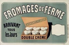 Fromages de ferme (Chéret Jules) - Muzeo.com