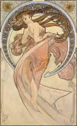 La Danse (Alfons Mucha) - Muzeo.com