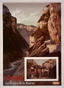 Le Dauphiné. Les Gorges de La Bourne (Hugo d'Alesi) - Muzeo.com