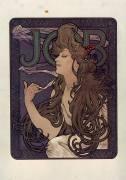 Papier à cigarette Job (Mucha Alfons) - Muzeo.com