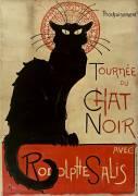 Tournée du Chat Noir (Steinlen Théophile Alexandre) - Muzeo.com