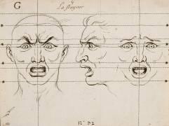 Expressions des Passions de l'âme : la Frayeur (Charles Le Brun) - Muzeo.com