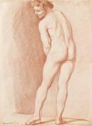 Jeune homme nu : étude pour l'Amour (Edme Bouchardon) - Muzeo.com