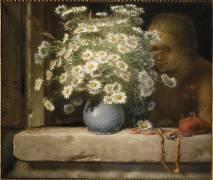 Le bouquet de marguerites (Jean-François Millet) - Muzeo.com