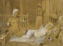 Odalisque à l'esclave (Ingres Jean-Auguste-Dominique) - Muzeo.com