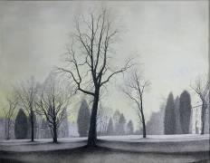 Le Parc , les arbres 1944 (Spilliaert Léon) - Muzeo.com
