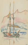 Album : bateau à deux mâts (Paul Signac) - Muzeo.com