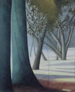 Arbres sur la plage (Léon Spilliaert) - Muzeo.com