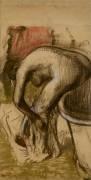 Baigneuses s'essuyant (Degas Edgar) - Muzeo.com