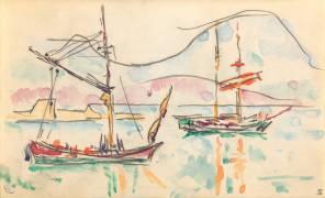 Carnet : La côte Nord de la Corse (Paul Signac) - Muzeo.com
