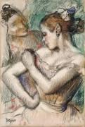 Danseuses (Degas Edgar) - Muzeo.com