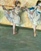 Danseuses à la barre (Degas Edgar) - Muzeo.com
