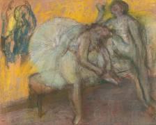 Deux danseuses au repos (Degas Edgar) - Muzeo.com