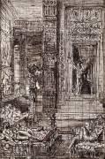 Hercule et les filles de Thespius (Moreau Gustave) - Muzeo.com