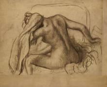 La toilette après le bain (Edgar Degas) - Muzeo.com