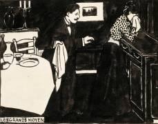 Les grands moyens (Vallotton Félix) - Muzeo.com