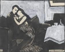 Les intimités : le mensonge (Vallotton Félix) - Muzeo.com