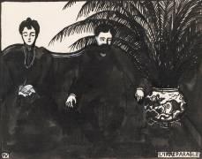 Les intimités : l'irréparable (Vallotton Félix) - Muzeo.com