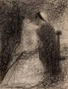 Nourrice et Enfant (Seurat Georges) - Muzeo.com