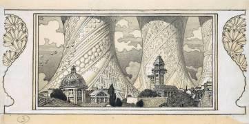 Ville imaginaire (Eugène Grasset) - Muzeo.com