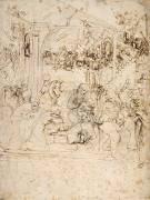 Adoration des Mages (De Vinci Léonard) - Muzeo.com