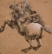 Cavalier, étude d'après la Bataille d'Anghiari (Léonard de Vinci) - Muzeo.com