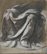 Draperie pour une figure assise (De Vinci Léonard) - Muzeo.com