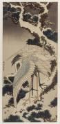 Grues (Hokusai) - Muzeo.com